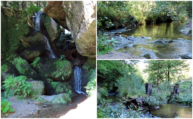 Sächsische Schweiz Lichtenhainer Wasserfall