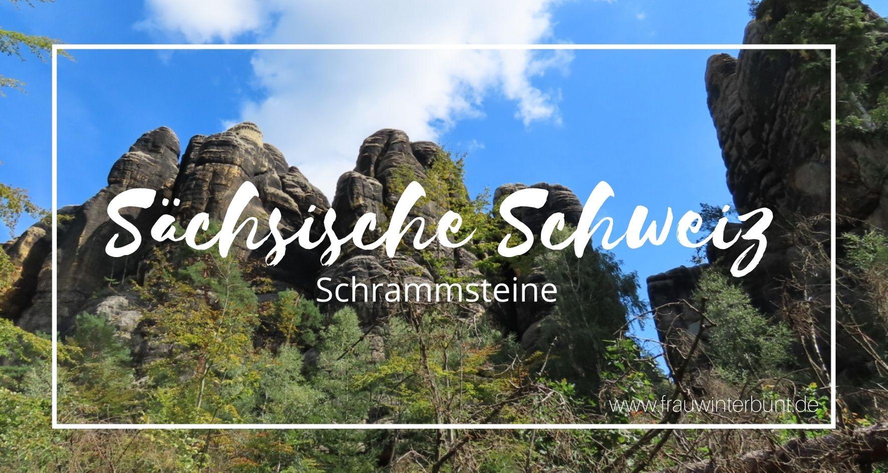 Schrammsteine Sächsische Schweiz