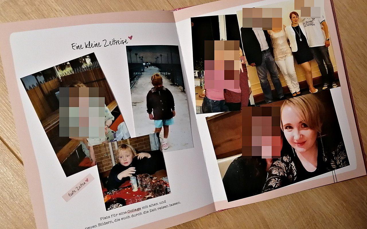 Erinnerungsbuch Mama