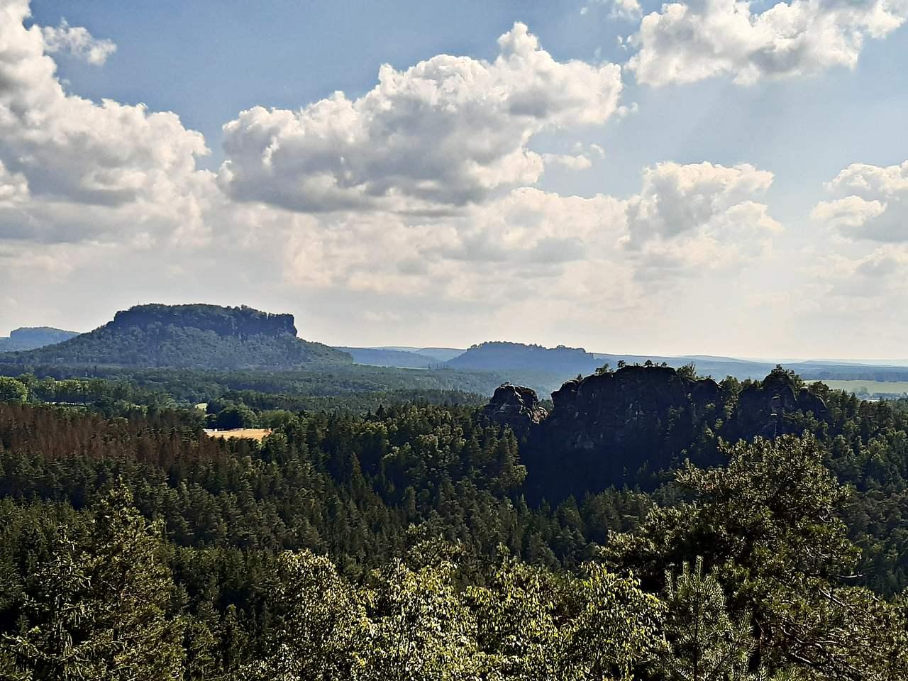 Sächsische Schweiz Kleine Bastei